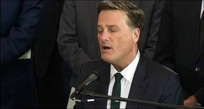 Michael W. Smith Leads 'Just As I Am' During Rev. Billy Graham Capitol Service Today