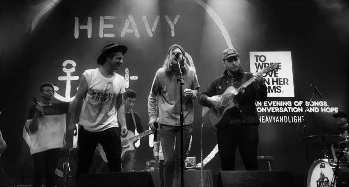 ​Jon Foreman, Dustin Kensrue, Propaganda and Aaron Marsh Perform Cover of 'I Won't Back Down'