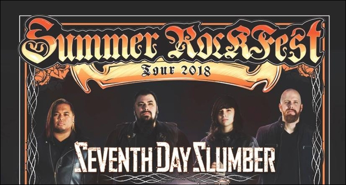 ​Seventh Day Slumber Announces 2018 Summer Rockfest Tour