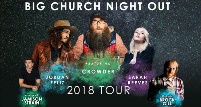 2nd Annual Big Church Night Out Tour Announced