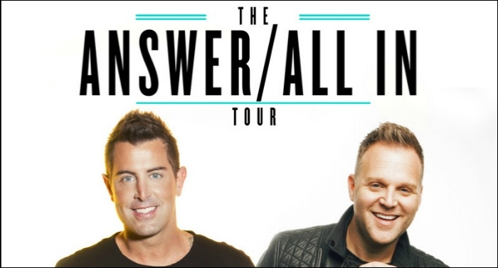 Jeremy Camp and Matthew West to Co-Headline 'The Answer / All In' Tour This Fall