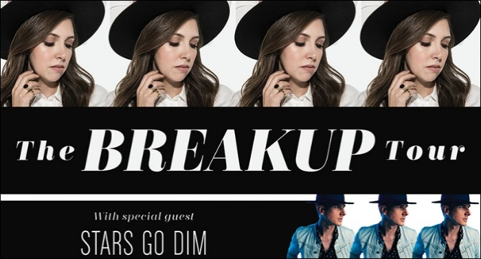 Francesca Battistelli's 'The Breakup Tour' Hitting the Road This Fall with Stars Go Dim