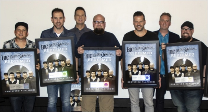 Big Daddy Weave's 'Redeemed' Receives Platinum Certification Status