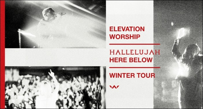 Elevation Worship Announces Tour Dates for Hallelujah Here Below Winter Tour