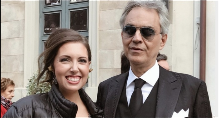 Francesca Battistelli Performs with Andrea Bocelli for Worldwide TV Christmas Special