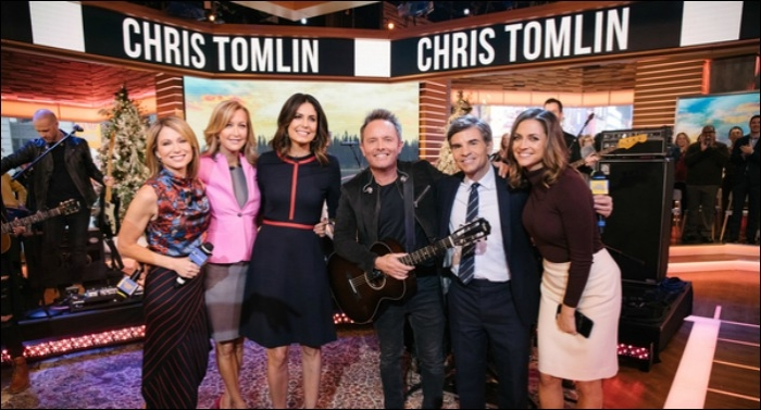 Chris Tomlin Wraps 2018 Christmas Tour