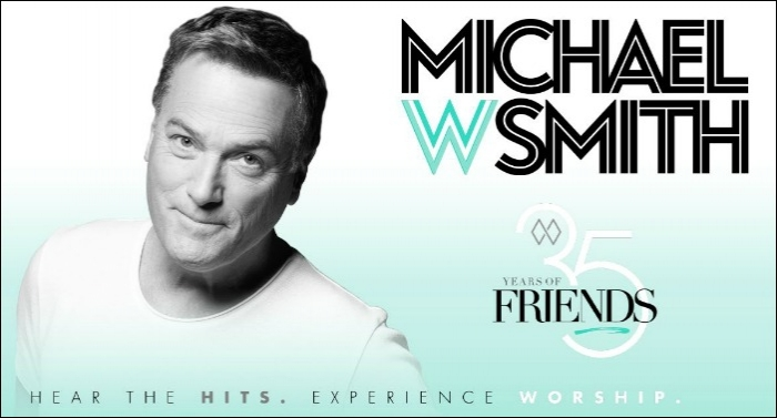 Michael W. Smith Invites Fans to Celebrate '35 Years Of Friends' with Fall Tour