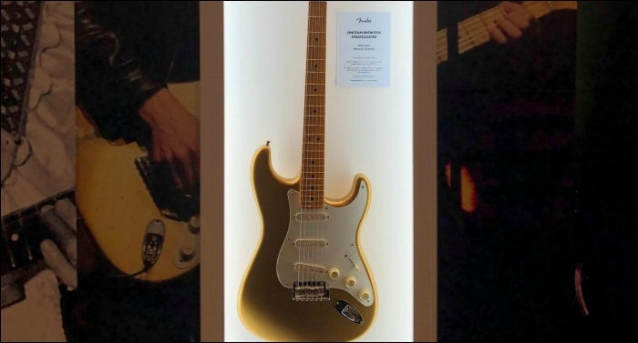 Lincoln Brewster Partnering with Fender for Limited Edition Stratocaster
