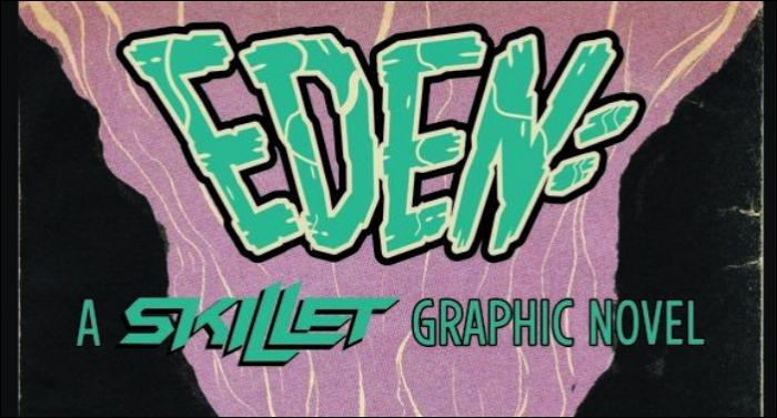 Skillet's Debut Graphic Novel 'EDEN' Poised to be Z2 Comic's Best-Selling Book of All Time