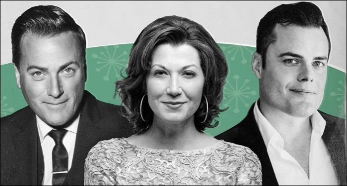 Amy Grant New Christmas Album.Michael W Smith Amy Grant Marc Martel Team Up For