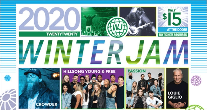 Winter Jam 2020 Lineup Announced