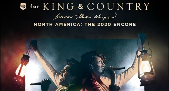 for KING & COUNTRY Extends 'Burn The Ships' Tour