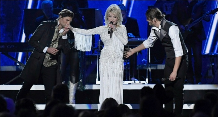 Watch Country Music Icon Dolly Parton Perform with for KING & COUNTRY and Zach Williams