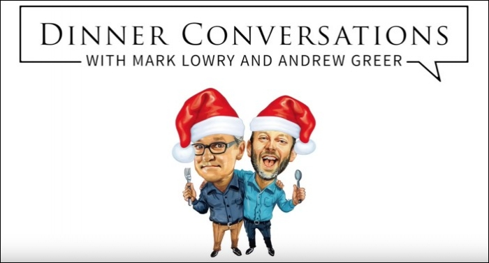 Video Premiere: Dinner Conversations 2019 Christmas Special