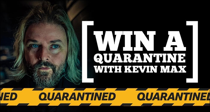 Amidst Cancelled Tour Dates, Kevin Max Launches New Contest