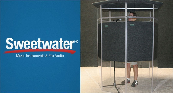 Sweetwater Introduces House of Worship Isolation Booths