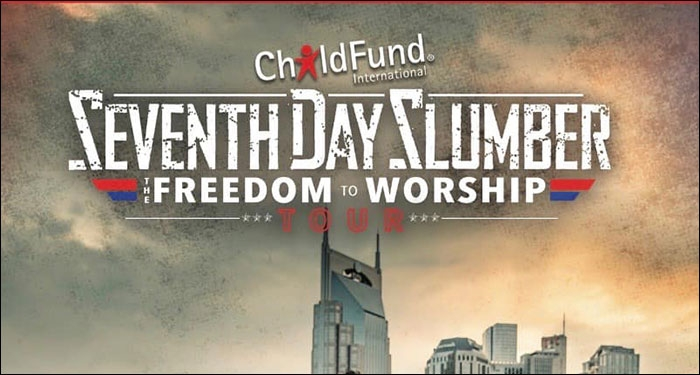 Seventh Day Slumber Plans Freedom To Worship Tour