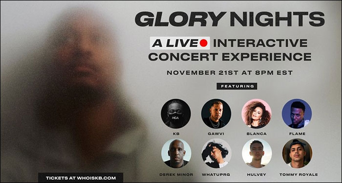 KB Announces 'Glory Nights' Virtual Concert