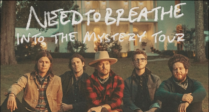 NEEDTOBREATHE Announces Dates for Fall Tour