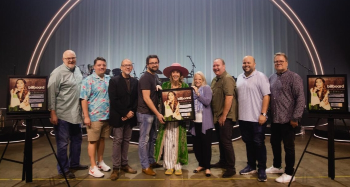 Lauren Daigle Presented with Plaque Honoring Sixth No. 1 Single