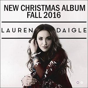 Lauren Daigle Announces Christmas Album